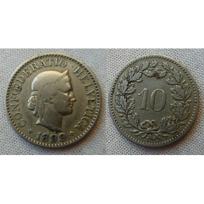 Switzerland - 10 centimes 1899