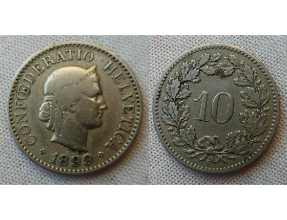 Switzerland - 10 centimes 1899