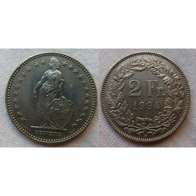Switzerland - 2 Franc 1994