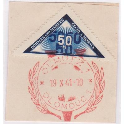 Pamětní razítko - Olomouc 1941