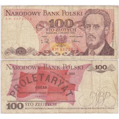 Polen - 100 zlotych 1988 Banknote