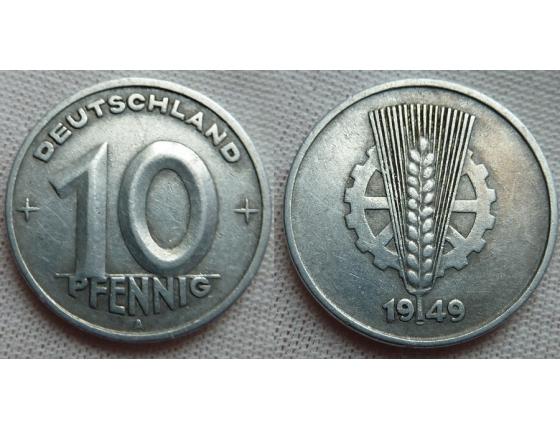 10 Pfennig 1949 A