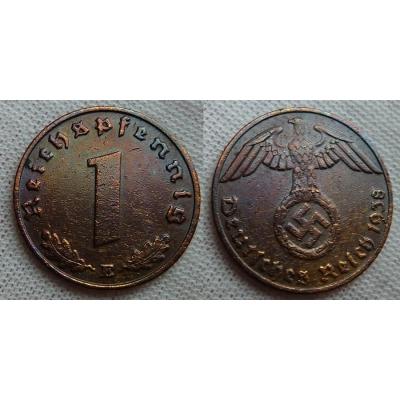 1 Reichspfennig 1938 E