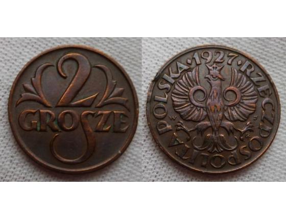 2 grosze 1927