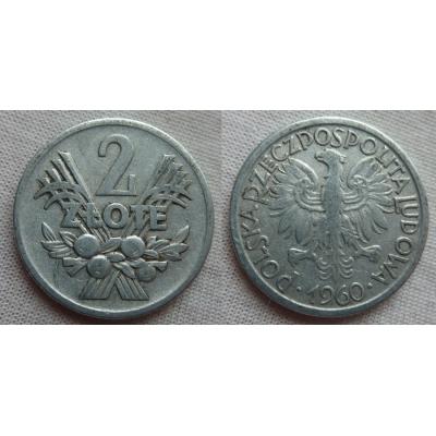 2 zlote 1960