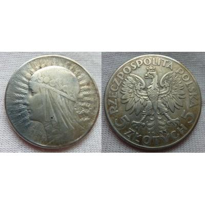 5 zlotych 1933