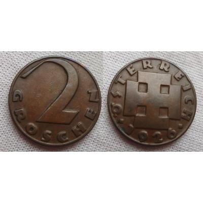 2 groschen 1926