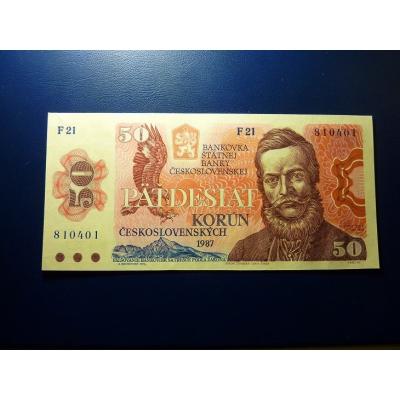 50 korun 1987 UNC