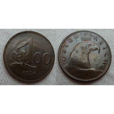100 kronen 1924