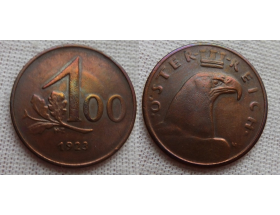 100 kronen 1923