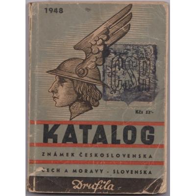 Katalog známek Československa 1948