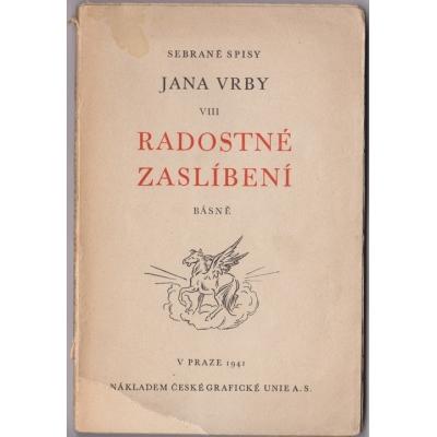 Radostné zaslíbení - sebrané spisy Jana Vrby