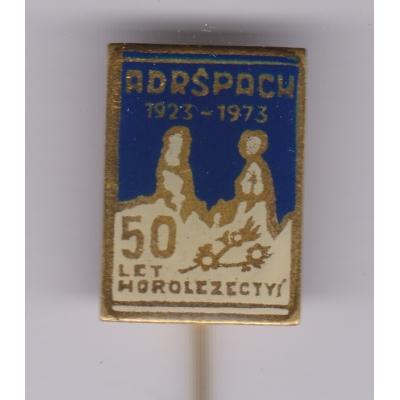 Adršpach - 50 let horolezectví 1973