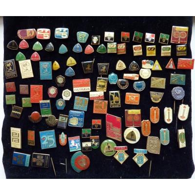 Sbírka odznaků OSTRAVA