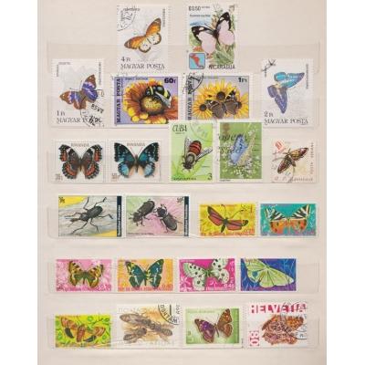 Partie známek - Zvířata