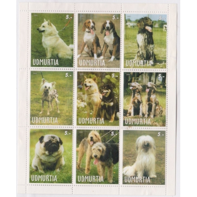 Udmurtsko - plemena psů