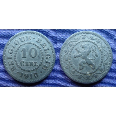 10 Centimes 1915