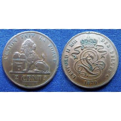 2 Centimes 1870