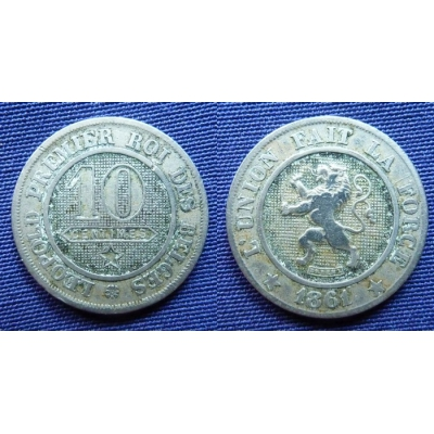 10 Centimes 1861
