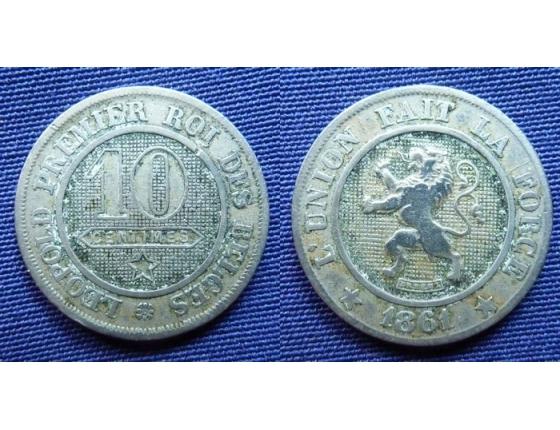 10 Centimes 1861