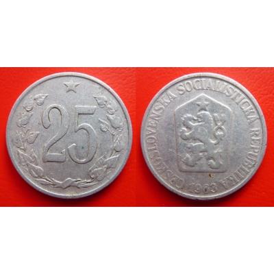 25 haléřů 1963