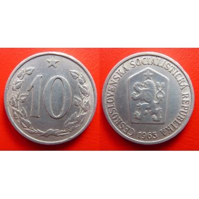 10 haléřů 1965