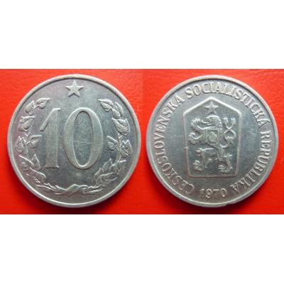 10 haléřů 1970