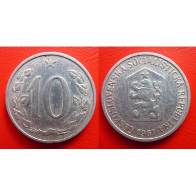 10 haléřů 1961