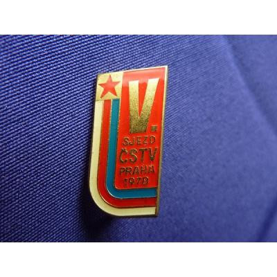 V. sjezd ČSTV Praha 1978