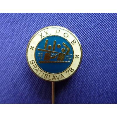 XX. POB Bratislava 1978