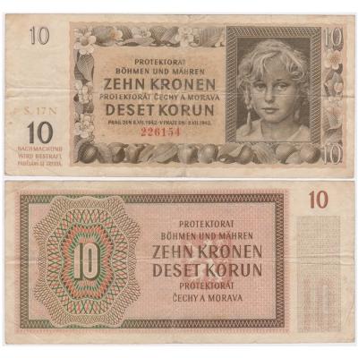 10 korun 1942