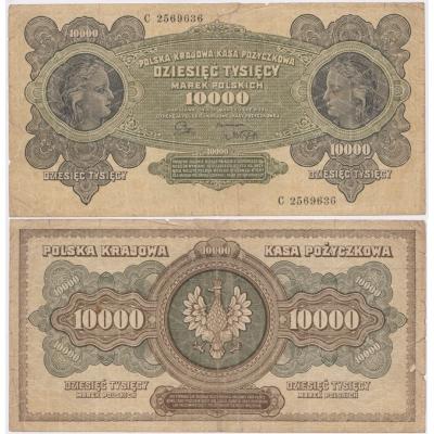 Poland - 10 000 mark 1922