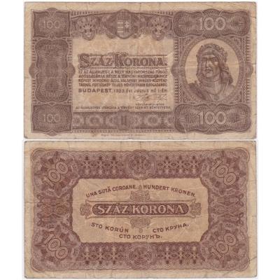 100 Korona 1923
