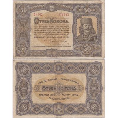 50 Korona 1920