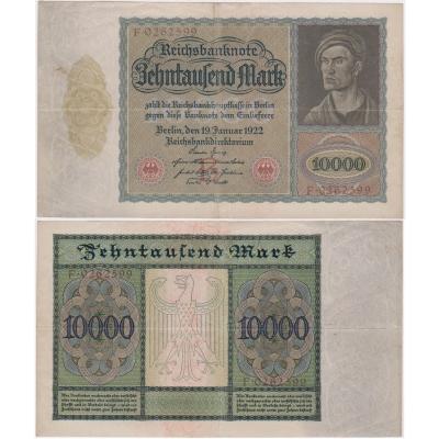 10 000 Marek 1922