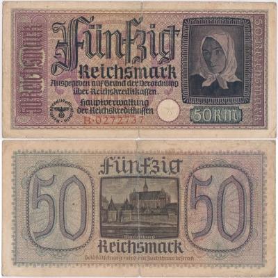 50 Reichsmark 1938-1945