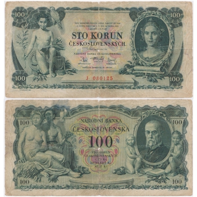 100 korun 1931, I. série