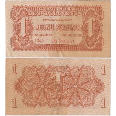 1 koruna 1944