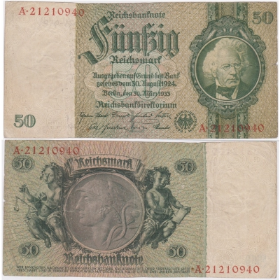 Reichsbanknote 50 Mark 1933