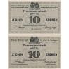 10 korun 1917, Vojenský zajatecký tábor Terezín
