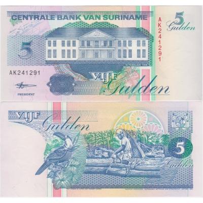 Surinam - 5 gulden 1998 UNC