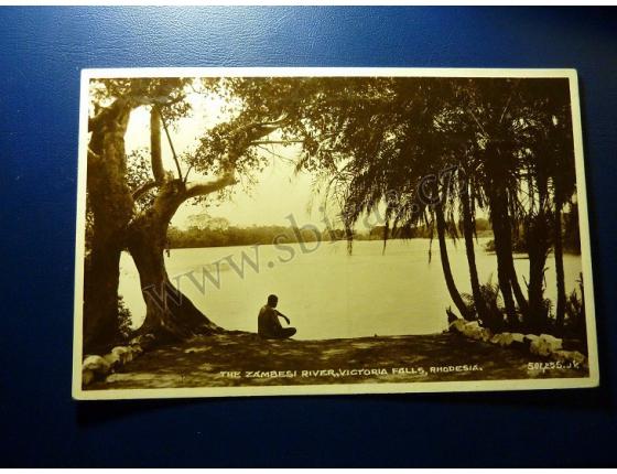 Rhodesia - The Zambesi River, Victoria Falls