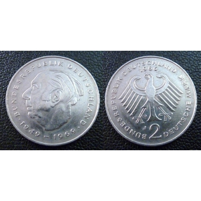 Západní Německo - 2 Mark 1986
