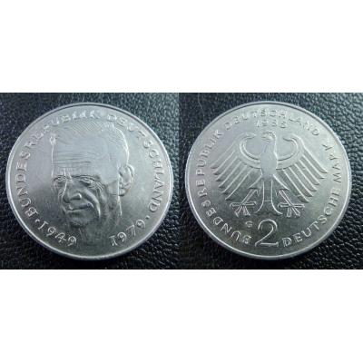 Západní Německo - 2 Mark 1985