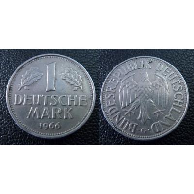 Západní Německo - 1 Mark 1966 G