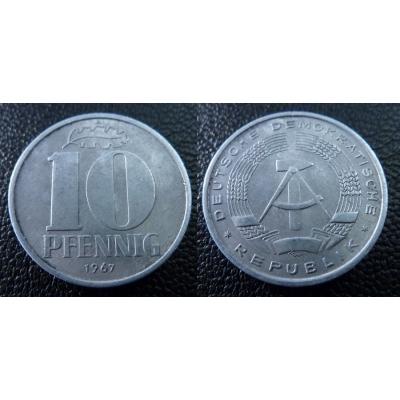 10 Pfennig 1967 A