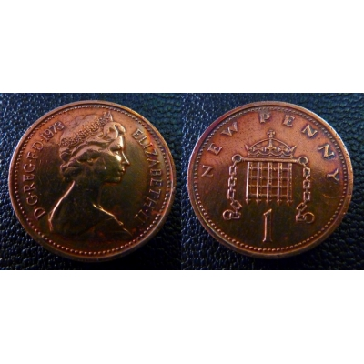 1 New Penny 1973