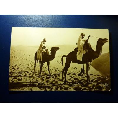 Maharistes Traversant Les Dunes