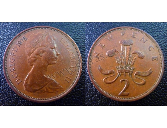 2 New Pence 1976