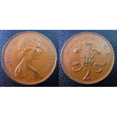 2 New Pence 1977